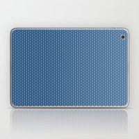 Navy Spotty Pattern Desi… Laptop & iPad Skin
