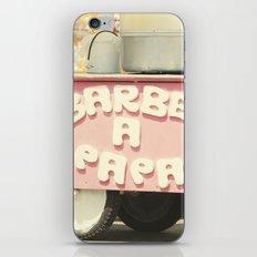 Barbe a Papa iPhone & iPod Skin
