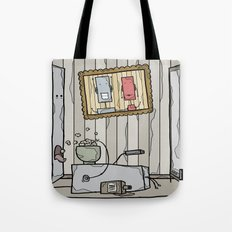 robot schmobot in color Tote Bag