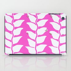 Hot Pink Heliconia iPad Case