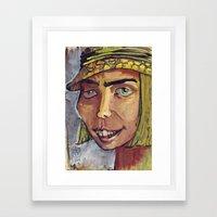 Mad Hatter 2 Framed Art Print
