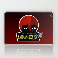 The Adventures of Bat man and Rob Zombie Laptop & iPad Skin