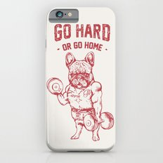 GO HARD OR GO HOME FRENC… iPhone 6 Slim Case
