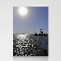 Reflections At The Pier Stationery Cards