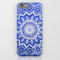 okshirahm, blue crystal iPhone 6 Slim Case