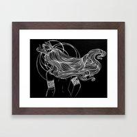 As the Deer Framed Art Print