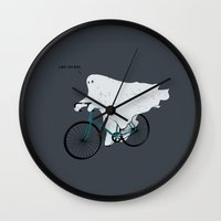 Negative Ghostrider G Wall Clock