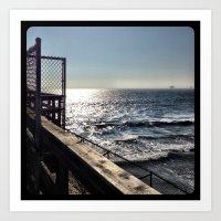 Ocean. Art Print