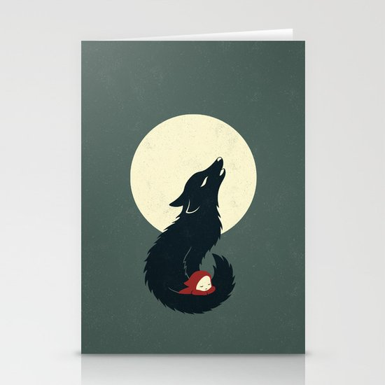 Little Red Riding Hood Stationery Card