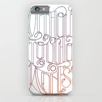 iPhone & iPod Case featuring There is No Great Genius Without a Touch of Madness - Seneca Quote Part 2 by One Curious Chip