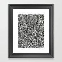 Katamari Framed Art Print