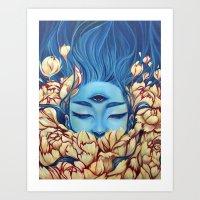 Deosil Art Print