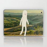 walking in tuscany Laptop & iPad Skin