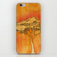Wooden Tree iPhone & iPod Skin