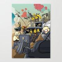 Road Warriors Canvas Print