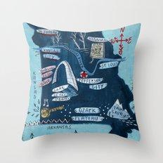 MISSOURI Throw Pillow