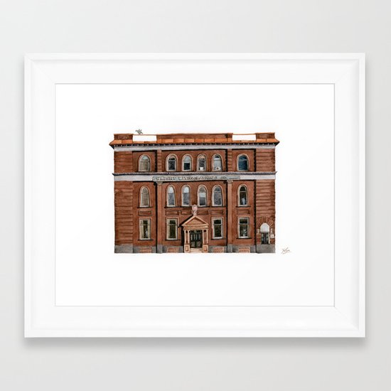 Wright Building Framed Art Print