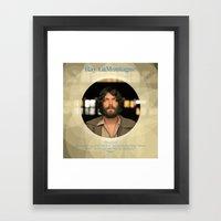 Album Cover Ray LaMontagne Framed Art Print
