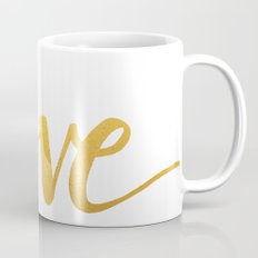 Love Gold Mug