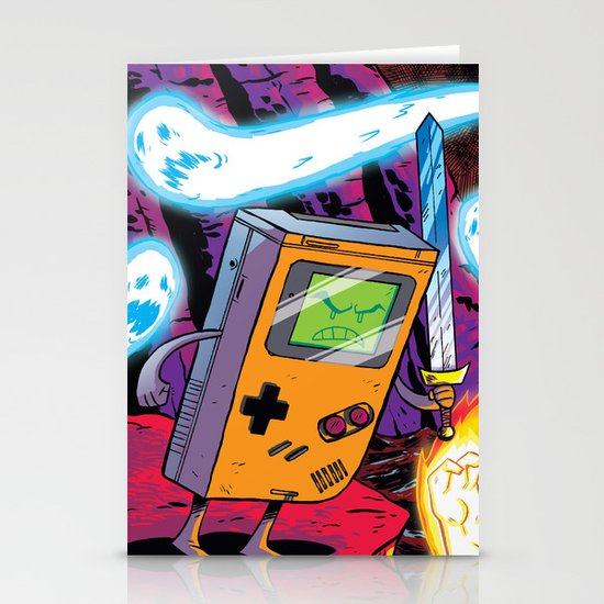 The Legend of Gameboy Stationery Card