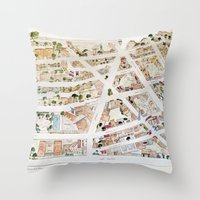 Greenwich Village Map By… Throw Pillow