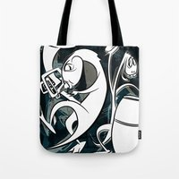 Music With Dinosaurs Tote Bag