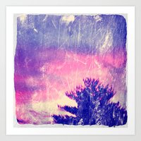 Cotton Candy Skies Art Print