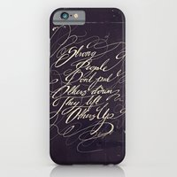 iPhone Cases featuring Strong people by Ellemo Art