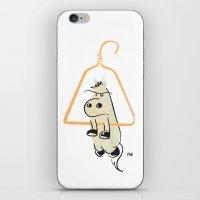 Hung Like A Horse iPhone & iPod Skin
