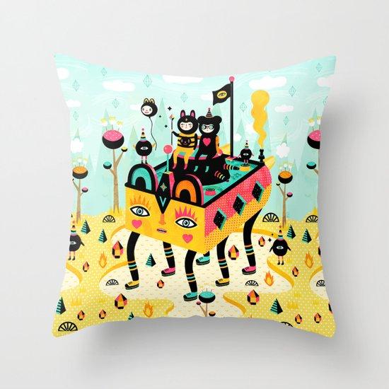 Hanging around! Throw Pillow