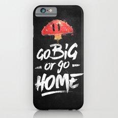 Go Big or Go Home Mario Inspired Smash Art iPhone 6 Slim Case