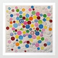 Button Box Art Print