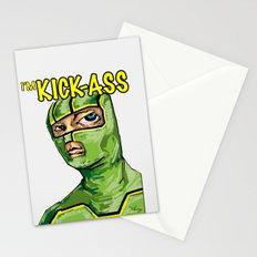 I'm Kick-ass! Stationery Cards