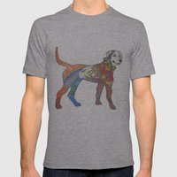 J-town Dog; Seasons of Change Mens Fitted Tee Athletic Grey SMALL