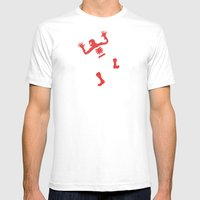 Does Whatever A Spider Can Mens Fitted Tee White SMALL