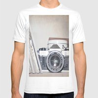 Anachrophile  Mens Fitted Tee White SMALL