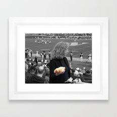 The Hot Dog Framed Art Print