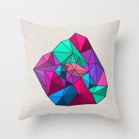Geographik/Geometrik Throw Pillow