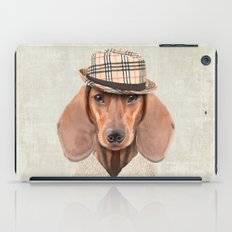 The stylish Mr Dachshund iPad Case
