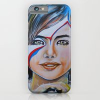 Girl With Yellow Bird iPhone 6 Slim Case