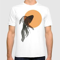 goldfish Mens Fitted Tee White SMALL