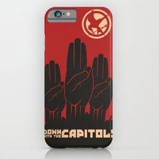 Down With The Capitol - Propaganda iPhone 6s Slim Case