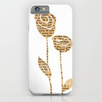 PAPERCUT FLOWER 5 iPhone 6 Slim Case