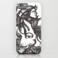 iPhone & iPod Case featuring Rosas y espinas by Raül Vázquez