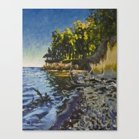 Chesapeake Beach Canvas Print