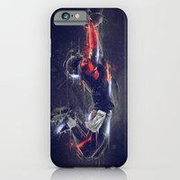 iPhone & iPod Case featuring DARK FOOTBALL by Ptitecao