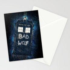 Bad Wolf TARDIS Stationery Cards
