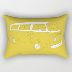 VW T2 Microbus Rectangular Pillow