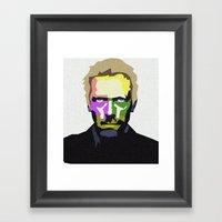 DR HOUSE Framed Art Print