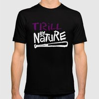 Trill By Nature Mens Fitted Tee Black SMALL